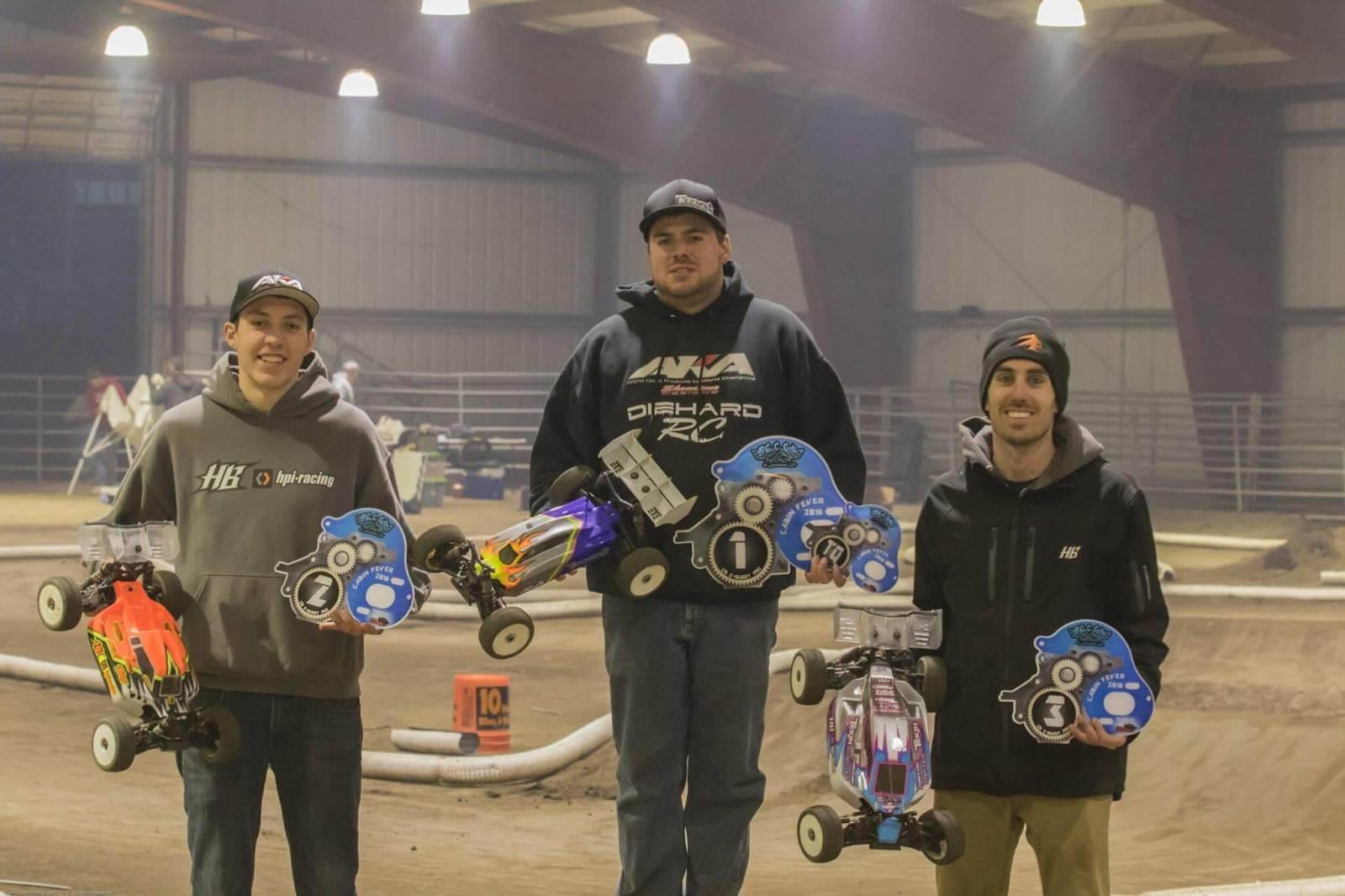 Cabin Fever 2016 Ebuggy Podium