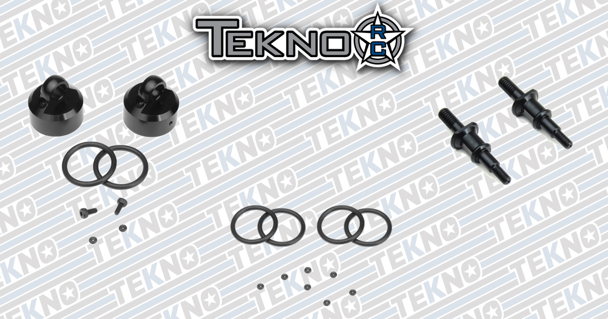 New Aluminum Shock Caps and Standoffs From Tekno RC!