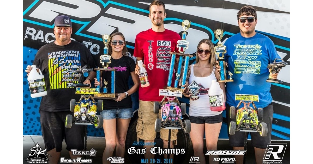 Ryan Lutz wins the 2017 Pro-Line Gas Champs!