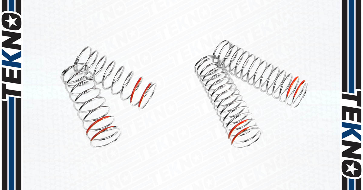 New SCT/SL Low Frequency Line of Springs from Tekno RC!