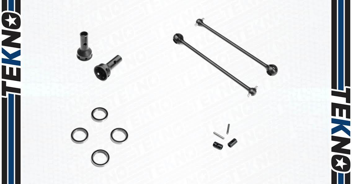 Tekno RC CVA Driveshafts for EB/NB48.4 Now Available