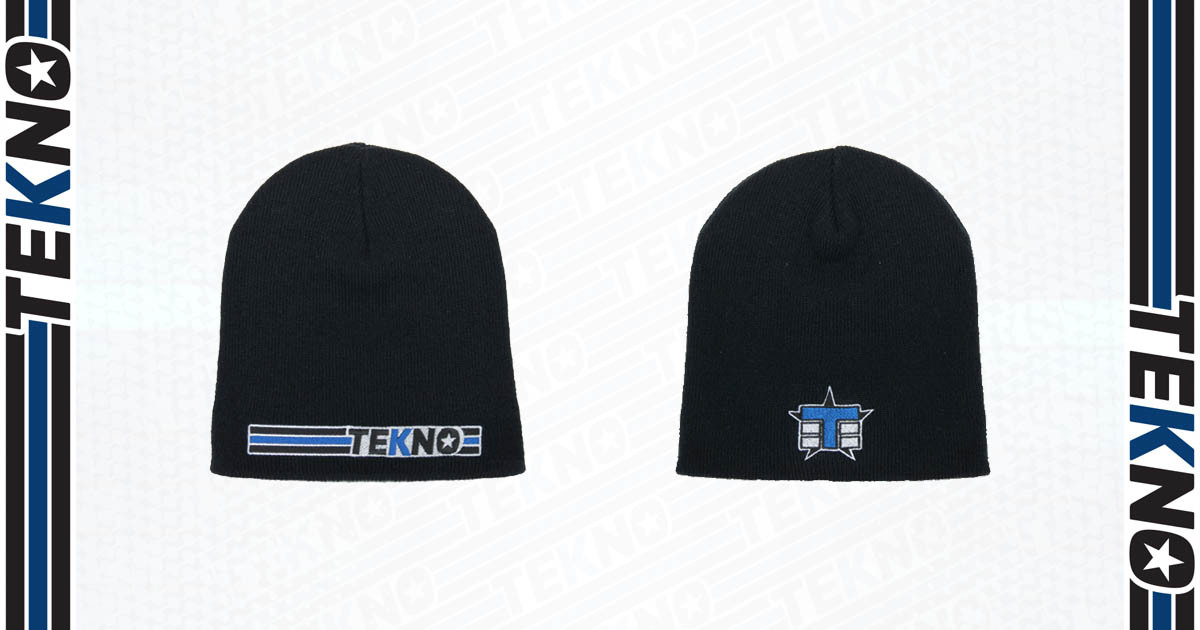Tekno RC Stripe Beanie Now Available